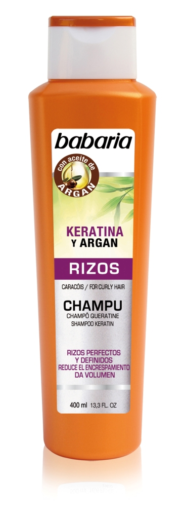 Champ babaria rizos keratina 400 compra en perfumer as for Bano keratina en casa