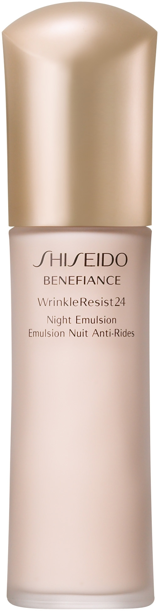 shiseido wrinkle resist 24 nigth emulsion 75ml compra en. Black Bedroom Furniture Sets. Home Design Ideas