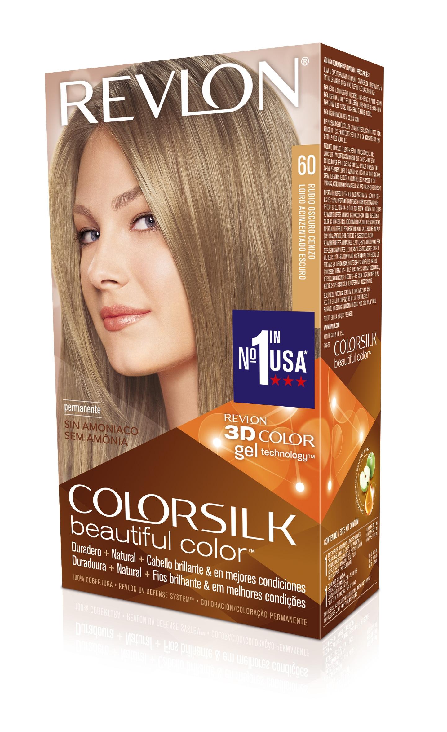 Rubio Cenizo Medio Comprar Tinte Revlon Colorsilk 60 Oscuro