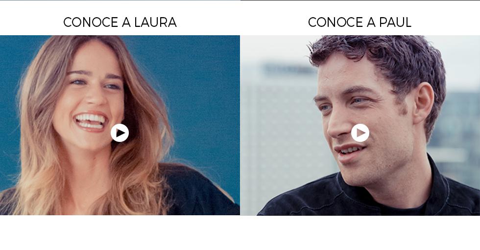 Conoce a Laura Conoce a Paul