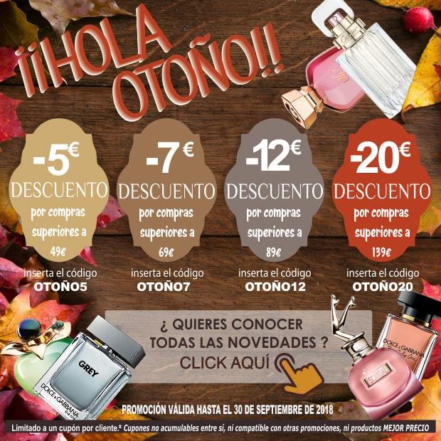 Ofertas Perfumes Otoño