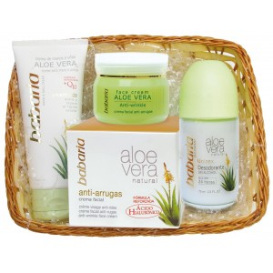 BABARIA ALOE PACK CR A.ARRUGAS+CR MANOS+DEO
