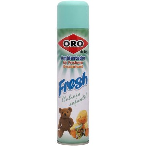Ambientador Oro Fresh Colonia infantil Spray 300ml