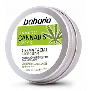 CANNABIS crema facial 50 ml Babaria