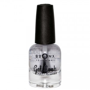 BRONX NAIL LACQUER GEL LOOK GEL TOP COAT