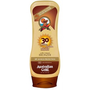 Australian Gold SPF 30 Loción W Broncer 237 ml