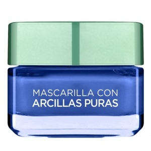 Loreal Skin Expert Mascarilla Arcillas Puras Azul Anti-Imperfecciones 50ml 0