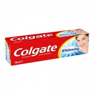 Dentífrico Colgate Whitening 100ml 0