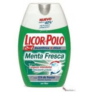 Dentífrico Licor Del Polo 2en1 Menta