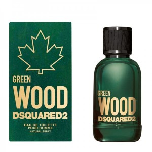 DSQUARED2 WOOD GREEN POUR HOMME 100 vaporizador 1