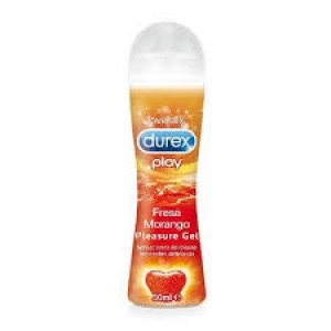 Durex Lubricante Saucy Strawberry 50ml