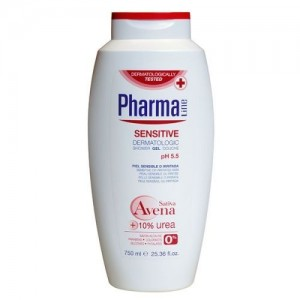 Gel de Baño Pharma Line Sensitive Avena Urea ph 5.5 750 ml 0