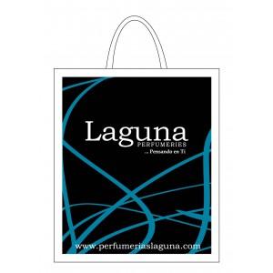 Bolsa regalo laguna pl stico lazo mediana 30x35 for Plastico para impermeabilizar lagunas