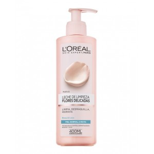 Loreal Balsamo Desmaquillante Flores sensible Normal Mixta 400ml