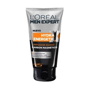 Loreal men gel limpiador Hydra Carbón 150ml