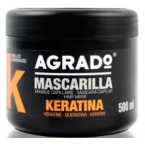 Mascarilla agrado keratina 500 ml compra en perfumer as for Bano keratina en casa