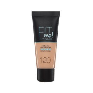 Maybelline Fit Me Matte&Poreless 120 Clair 1