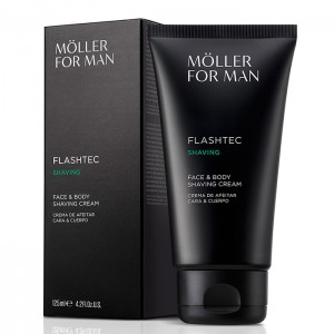 Moller For Man Crema Afeitar Cara y Cuerpo 125ml 1