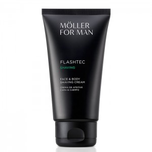 Moller For Man Crema Afeitar Cara y Cuerpo 125ml 0