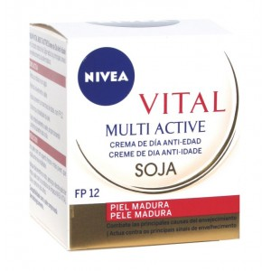 Nivea Multi active Día Natiedad Madura Fp 12 50ml