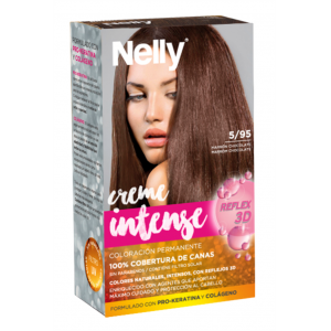 Tinte Pelo Nelly 5/95 Marrón Chocolate