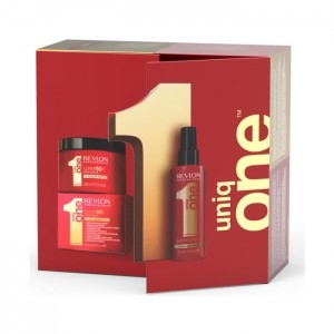UNIQ ONE REVLON 150+ MASCARILLA 300 ML SET PACK REGALO