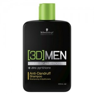 Schwarzkopf Men 3D MENSION Champú Anticaspa. Shampoo Anti-dandruff 250ml 0