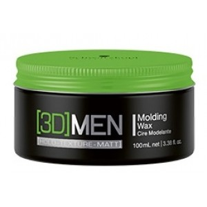 Schwarzkopf Men 3D MENSION Molding Wax. Cera Modeladora 100ml. 0