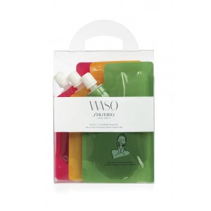 SHISEIDO WASO RESET CLEANSER SQUAD 3x70ml