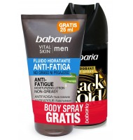 BABARIA MEN FLUIDO HIDRATANTE ANTI FATIGA 75 ML