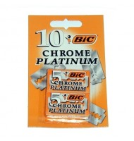 Bic chrome platinum 10 unidades