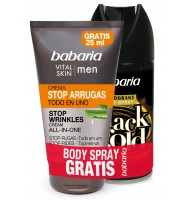 BABARIA MEN CREMA STOP ARRUGAS 75 ML