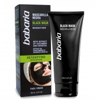 BABARIA MASCARILLA FACIAL BLACK 100ML