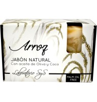 Jabón natural s&s arroz 100g
