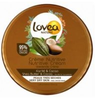 Lovea Nature crema nutritiva Karité & Cacao 150 ml