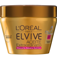 Mascarilla Elvive Aceite Extraordinario Secos 300ml