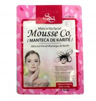 Mascarilla facial s&s mousse co2 manteca de karité