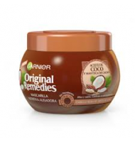 Mascarilla garnier original remedies aceite de coco y cacao 300ml