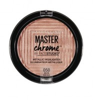 Maybelline Master Chrome Metallic Highlighter 050 Rose Gold