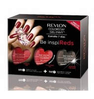 Revlon uñas gel envy we love red