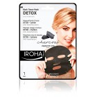 Mascarilla Iroha Detox Charcoal Black Tissue Facial