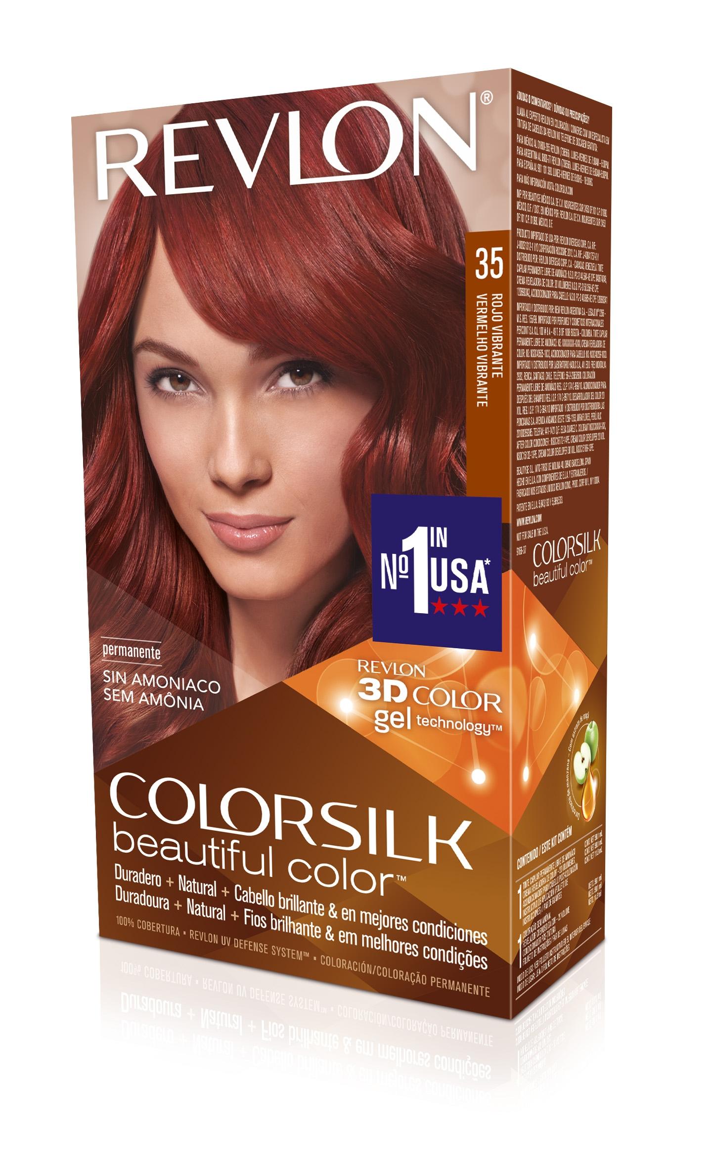 Comprar tinte revlon colorsilk 35 rojo vibrante mejor precio - Tinte para pintura ...